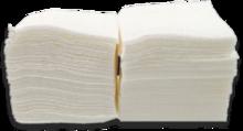 Салфетка барная белая, 500 шт./уп.